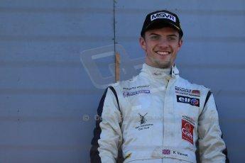 World © Octane Photographic Ltd. Sunday 26th April 2015, MSVR F3 Cup Race 3. Donington Park. Chris Dittmann Racing (CDR) – Kieran Vernon – Dallara F307 Mercedes HWA. Digital Ref: 1237LB1D4871