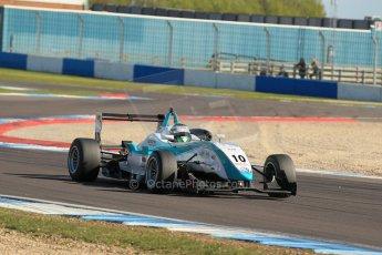 World © Octane Photographic Ltd. Sunday 26th April 2015, MSVR F3 Cup Race 3. Donington Park. Omicron Motorsport - Jacopo Sebastiani – Dallara F307 Volkswagen Speiss. Digital Ref: 1237LW1L4821