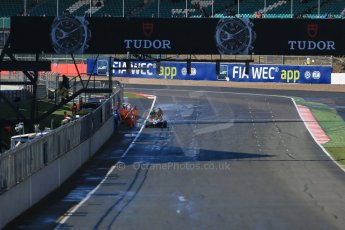 World © Octane Photographic Ltd. FIA European F3 Championship, Silverstone Race 1, UK, Saturday 11th April 2015. Fortec Motorsports – Pietro Fittipaldi, Dallara F312 – Mercedes-Benz being pushed clear of start. Digital Ref : 1222LB1D7714