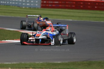 World © Octane Photographic Ltd. FIA European F3 Championship, Silverstone Race 2, UK, Saturday 11th April 2015. Fortec Motorsports – Pietro Fittipaldi, Dallara F312 – Mercedes-Benz and kfzteile24 Mucke Motorsport – Maximilian Gunther, Dallara F312 – Mercedes-Benz. Digital Ref : 1223LB1D7999