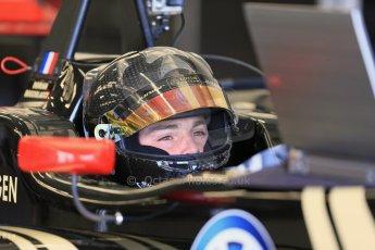 World © Octane Photographic Ltd. FIA European F3 Championship, Silverstone test day, UK, Tuesday 7th April 2015. Signature – Dorian Boccolacci, Dallara F312 – Volkswagen. Digital Ref : 1216LB1D3782