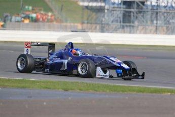World © Octane Photographic Ltd. FIA European F3 Championship, Silverstone test day, UK, Tuesday 7th April 2015. Carlin – Tatiana Calderon, Dallara F312 – Volkswagen. Digital Ref : 1216LB1D3838