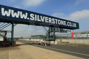 World © Octane Photographic Ltd. FIA European F3 Championship, Silverstone test day, UK, Tuesday 7th April 2015. Signature – Alexander Albon, Dallara F312 – Volkswagen. Digital Ref : 1216LW1L8420