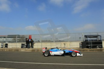World © Octane Photographic Ltd. FIA European F3 Championship, Silverstone test day, UK, Tuesday 7th April 2015. Team West-Tec F3 – Raoul Hyman, Dallara F312 – Mercedes-Benz. Digital Ref : 1216LW1L8499