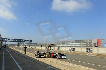 World © Octane Photographic Ltd. FIA European F3 Championship, Silverstone test day, UK, Tuesday 7th April 2015. Signature – Dorian Boccolacci, Dallara F312 – Volkswagen. Digital Ref : 1216LW1L8673