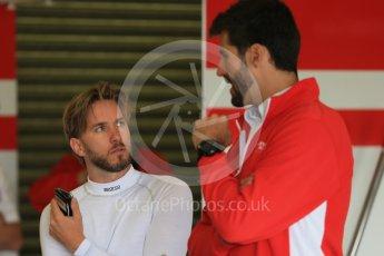 World © Octane Photographic Ltd. FIA Formula E testing – Donington Park 10th August 2015, Mahindra M2ELECTRO. Mahindra – Nick Heidfeld. Digital Ref : 1366LB1D4428