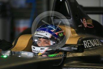 World © Octane Photographic Ltd. FIA Formula E testing – Donington Park 10th August 2015, SRT01-e. Team Aguri – Salvador Duran Sanchez. Digital Ref : 1366LB1D4433