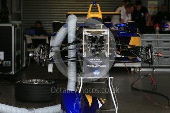 World © Octane Photographic Ltd. FIA Formula E testing – Donington Park 10th August 2015, Renault Z.E.15. Renault e.Dams – Nicolas Prost. Digital Ref : 1366LB1D4440