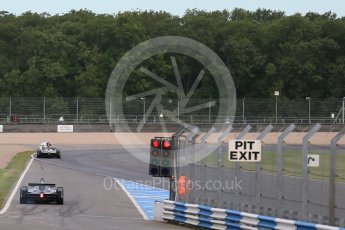 World © Octane Photographic Ltd. FIA Formula E testing – Donington Park 11th August 2015, Venturi VM200-FE-01. Venturi – Jacques Villeneuve stopped on track. Digital Ref : 1367LB1D4669