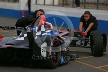 World © Octane Photographic Ltd. FIA Formula E testing – Donington Park 11th August 2015, Venturi VM200-FE-01. Venturi – Stephane Sarrazin. Digital Ref : 1367LB1D4719