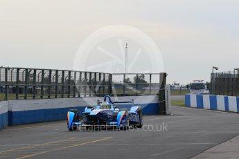 World © Octane Photographic Ltd. FIA Formula E testing – Donington Park 11th August 2015, Andretti ATEC-01. Amlin-Andretti – Simona di Silvestro. Digital Ref : 1367LB1D4745