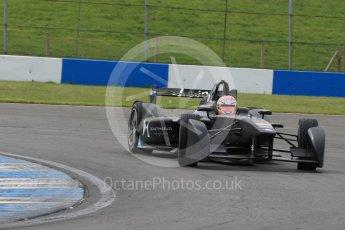 World © Octane Photographic Ltd. FIA Formula E testing – Donington Park 11th August 2015, Virgin DSV-01. DS Virgin Racing – Jean-Eric Vergne. Digital Ref : 1367LB1D4800