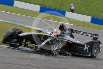 World © Octane Photographic Ltd. FIA Formula E testing – Donington Park 11th August 2015, Virgin DSV-01. DS Virgin Racing – Jean-Eric Vergne. Digital Ref : 1367LB1D4816