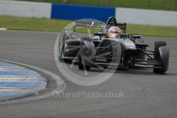 World © Octane Photographic Ltd. FIA Formula E testing – Donington Park 11th August 2015, Virgin DSV-01. DS Virgin Racing – Sam Bird. Digital Ref : 1367LB1D4842