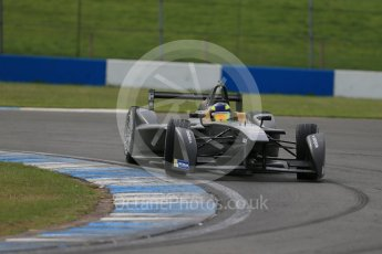 World © Octane Photographic Ltd. FIA Formula E testing – Donington Park 11th August 2015, SRT01-e. Team Aguri – Tom Dillmann. Digital Ref : 1367LB1D4856