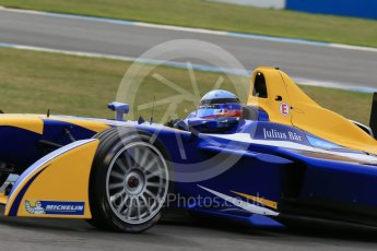 World © Octane Photographic Ltd. FIA Formula E testing – Donington Park 11th August 2015, Renault Z.E.15. Renault e.Dams – Nicolas Prost. Digital Ref : 1367LB1D4917
