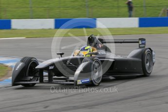 World © Octane Photographic Ltd. FIA Formula E testing – Donington Park 11th August 2015, SRT01-e. Team Aguri – Tom Dillmann. Digital Ref : 1367LB1D4942