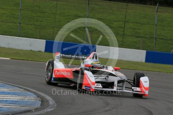 World © Octane Photographic Ltd. FIA Formula E testing – Donington Park 11th August 2015, Mahindra M2ELECTRO. Mahindra – Bruno Senna. Digital Ref : 1367LB1D4960