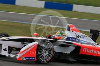 World © Octane Photographic Ltd. FIA Formula E testing – Donington Park 11th August 2015, Mahindra M2ELECTRO. Mahindra – Bruno Senna. Digital Ref : 1367LB1D4965