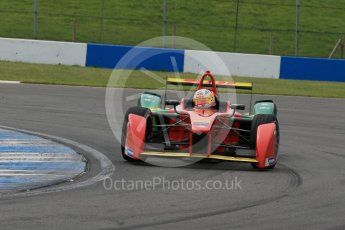 World © Octane Photographic Ltd. FIA Formula E testing – Donington Park 11th August 2015, ABT Shaeffler FE01. ABT Shaeffler Audi Sport – Daniel Abt. Digital Ref : 1367LB1D4974