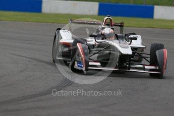 World © Octane Photographic Ltd. FIA Formula E testing – Donington Park 11th August 2015, Venturi VM200-FE-01. Dragon Racing – Jerome D'Ambrosio. Digital Ref : 1367LB1D5003