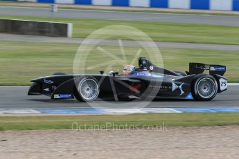 World © Octane Photographic Ltd. FIA Formula E testing – Donington Park 11th August 2015, Virgin DSV-01. DS Virgin Racing – Jean-Eric Vergne. Digital Ref : 1367LB1D5111