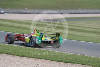 World © Octane Photographic Ltd. FIA Formula E testing – Donington Park 11th August 2015, ABT Shaeffler FE01. ABT Shaeffler Audi Sport – Daniel Abt. Digital Ref : 1367LB1D5189
