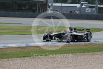 World © Octane Photographic Ltd. FIA Formula E testing – Donington Park 11th August 2015, Virgin DSV-01. DS Virgin Racing – Jean-Eric Vergne. Digital Ref : 1367LB1D5227