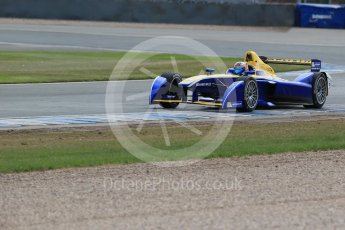 World © Octane Photographic Ltd. FIA Formula E testing – Donington Park 11th August 2015, Renault Z.E.15. Renault e.Dams – Sebastien Buemi. Digital Ref : 1367LB1D5270