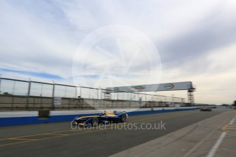 World © Octane Photographic Ltd. FIA Formula E testing – Donington Park 11th August 2015, Renault Z.E.15. Renault e.Dams – Sebastien Buemi. Digital Ref : 1367LB5D2427