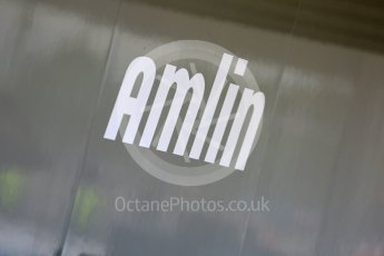 World © Octane Photographic Ltd. FIA Formula E testing – Donington Park 11th August 2015, Andretti ATEC-01. Amlin logo. Digital Ref : 1367LB5D2565