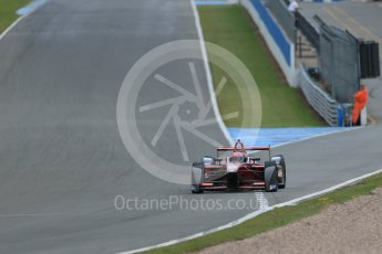 World © Octane Photographic Ltd. FIA Formula E testing – Donington Park 17th August 2015, Venturi VM200-FE-01. Dragon Racing – Loic Duval. Digital Ref : 1368LB1D5539