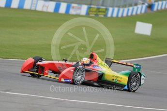 World © Octane Photographic Ltd. FIA Formula E testing – Donington Park 17th August 2015, ABT Shaeffler FE01. ABT Shaeffler Audi Sport – Daniel Abt. Digital Ref : 1368LB1D5543