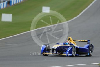 World © Octane Photographic Ltd. FIA Formula E testing – Donington Park 17th August 2015, Renault Z.E.15. Renault e.Dams – Sebastien Buemi. Digital Ref : 1368LB1D5569