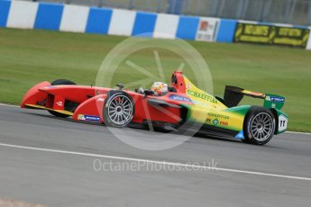 World © Octane Photographic Ltd. FIA Formula E testing – Donington Park 17th August 2015, ABT Shaeffler FE01. ABT Shaeffler Audi Sport – Daniel Abt. Digital Ref : 1368LB1D5578