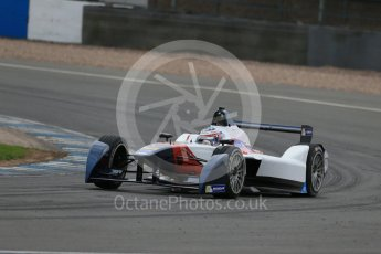 World © Octane Photographic Ltd. FIA Formula E testing – Donington Park 17th August 2015, SRT01-e. Team Aguri – Nicolas Lapierre. Digital Ref : 1368LB1D5603