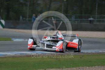 World © Octane Photographic Ltd. FIA Formula E testing – Donington Park 17th August 2015, Mahindra M2ELECTRO. Mahindra – Nick Heidfeld. Digital Ref : 1368LB1D5729