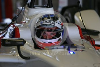 World © Octane Photographic Ltd. FIA Formula E testing – Donington Park 17th August 2015, SRT01-e. Team Aguri – Nicolas Lapierre. Digital Ref : 1368LB1D5834