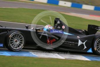 World © Octane Photographic Ltd. FIA Formula E testing – Donington Park 17th August 2015, Virgin DSV-01. DS Virgin Racing – Sam Bird. Digital Ref : 1368LB1D5867