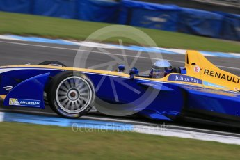 World © Octane Photographic Ltd. FIA Formula E testing – Donington Park 17th August 2015, Renault Z.E.15. Renault e.Dams – Nicolas Prost. Digital Ref : 1368LB1D5908