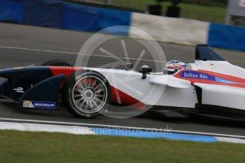 World © Octane Photographic Ltd. FIA Formula E testing – Donington Park 17th August 2015, SRT01-e. Team Aguri – Nicolas Lapierre. Digital Ref : 1368LB1D5918