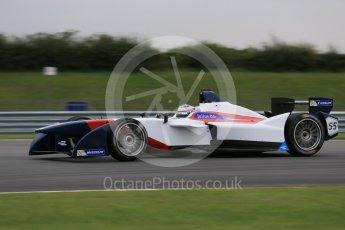World © Octane Photographic Ltd. FIA Formula E testing – Donington Park 17th August 2015, SRT01-e. Team Aguri – Nicolas Lapierre. Digital Ref : 1368LB1D6005