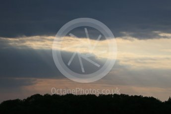 World © Octane Photographic Ltd. FIA Formula E testing – Donington Park 17th August 2015, end of day. Digital Ref : 1368LB1D6022