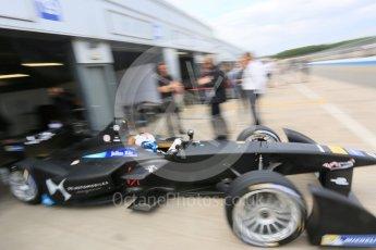 World © Octane Photographic Ltd. FIA Formula E testing – Donington Park 17th August 2015, Virgin DSV-01. DS Virgin Racing – Sam Bird. Digital Ref : 1368LB5D2659