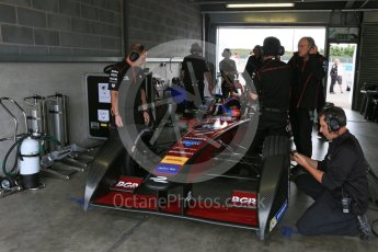 World © Octane Photographic Ltd. FIA Formula E testing – Donington Park 17th August 2015, Venturi VM200-FE-01. Dragon Racing – Loic Duval. Digital Ref : 1368LB5D2721
