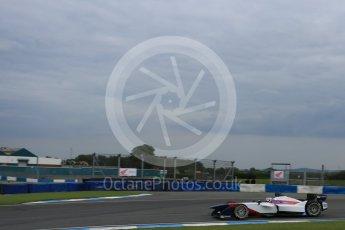 World © Octane Photographic Ltd. FIA Formula E testing – Donington Park 17th August 2015, SRT01-e. Team Aguri – Nicolas Lapierre. Digital Ref : 1368LB5D2798