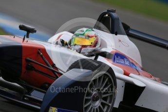 World © Octane Photographic Ltd. FIA Formula E testing – Donington Park 18th August 2015, SRT01-e. Team Aguri – Nathanael Berthon. Digital Ref : 1369LB1D6316