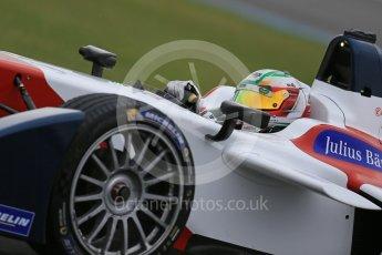 World © Octane Photographic Ltd. FIA Formula E testing – Donington Park 18th August 2015, SRT01-e. Team Aguri – Nathanael Berthon. Digital Ref : 1369LB1D6320