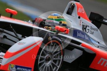 World © Octane Photographic Ltd. FIA Formula E testing – Donington Park 18th August 2015, Mahindra M2ELECTRO. Mahindra – Bruno Senna. Digital Ref : 1369LB1D6363