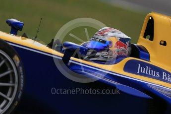 World © Octane Photographic Ltd. FIA Formula E testing – Donington Park 18th August 2015, Renault Z.E.15. Renault e.Dams – Sebastien Buemi. Digital Ref : 1369LB1D6397